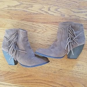 Massimo Supply Co Ankle Booties